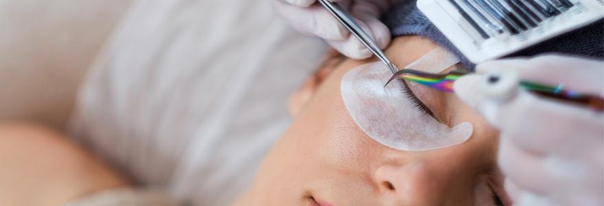 eyelash extension techniques